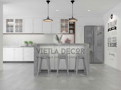 thiết kế thi công nội thất phòng ăn hiện đại