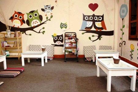 Nghệ thuật vẽ tranh tường cho quán cafe