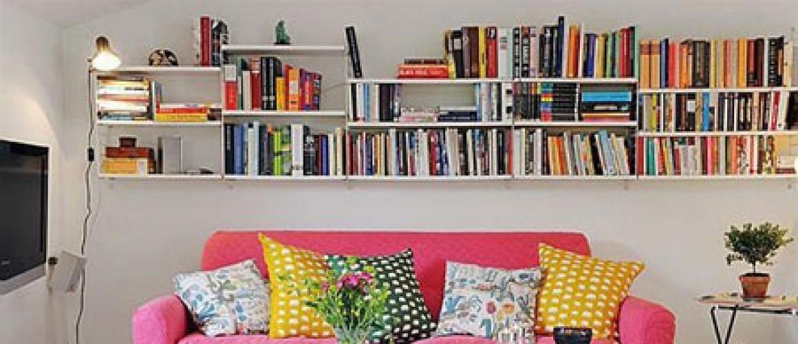 Sự sắp xếp thông minh cho căn phòng khách nhỏ