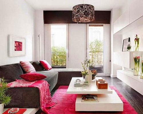 Thiết kế trang trí cho những căn phòng khách nhỏ phần 3