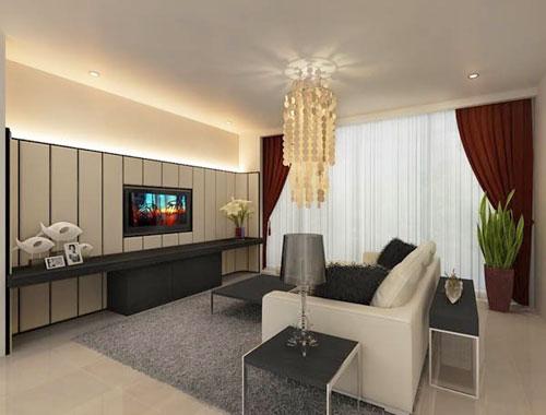 Thiết kế trang trí cho những căn phòng khách nhỏ phần 1