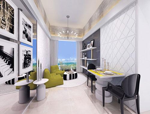 Thiết kế trang trí cho những căn phòng khách nhỏ phần 2