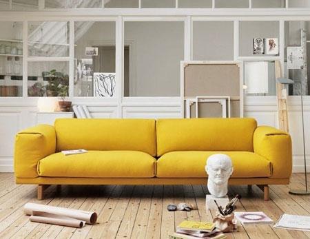 Chọn sofa nổi bật cho phòng khách