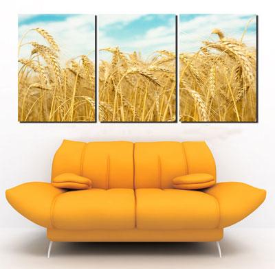 Làm đẹp phòng khách với tranh phong cảnh