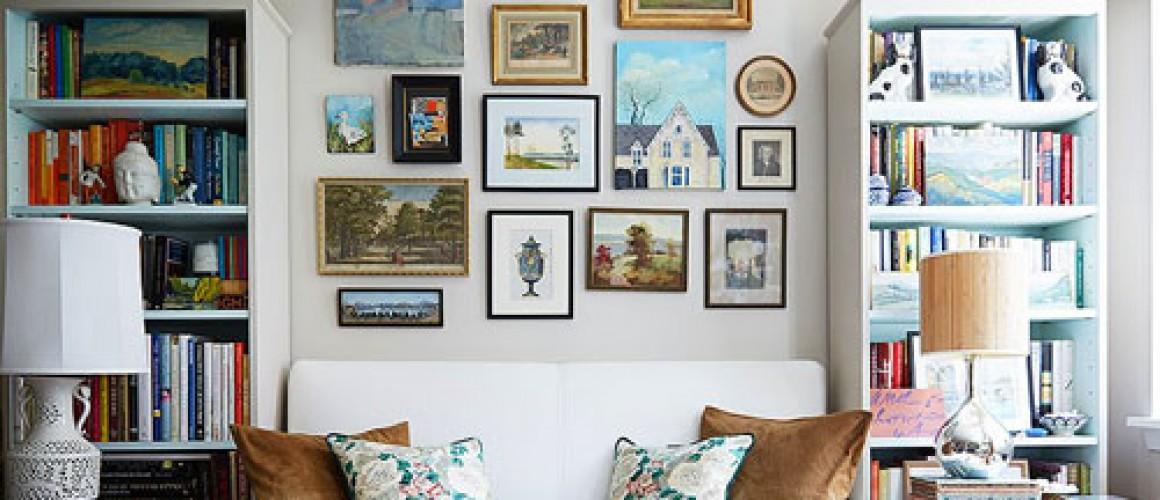 Làm đẹp nhà bằng tranh treo tường