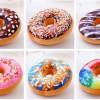 Gối mẫu bánh donut