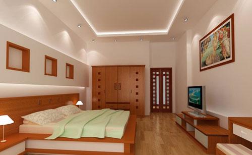 Lựa chọn đèn cho phòng ngủ