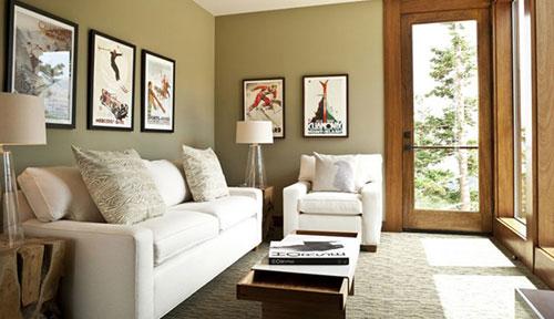 Những việc cần biết khi trang trí phòng khách