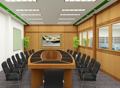 Những vật liệu trang trí thường gặp nơi văn phòng