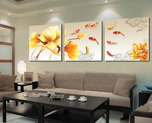Nghệ thuật treo tranh dành cho nội thất chung cư