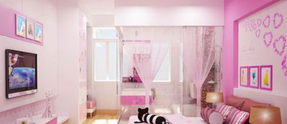 Trang trí phòng ngủ teen