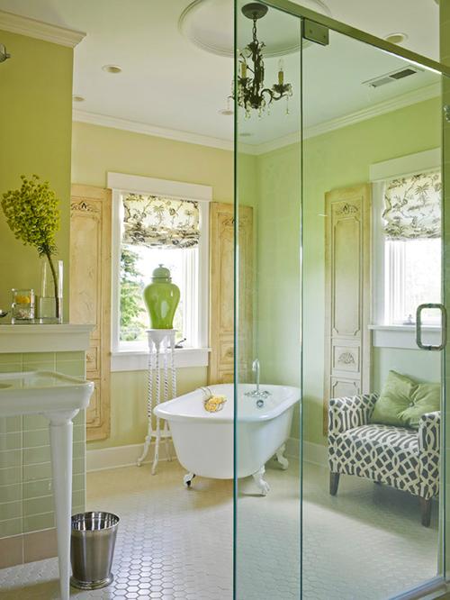Học cách trang trí không gian phòng tắm