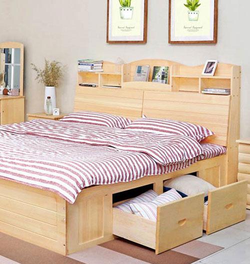 Giường ngủ gỗ – vẻ đẹp tự nhiên