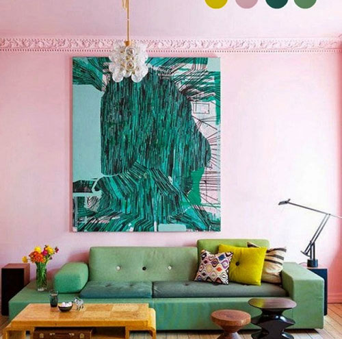 Trang trí ngôi nhà màu hồng cho những cô nàng nữ tính