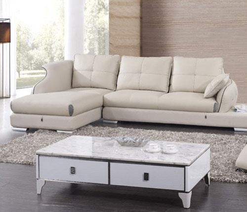 Làm sạch và bảo quản ghế sofa da phòng khách luôn bền đẹp