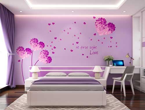 Thiết kế phòng ngủ ấn tượng dựa vào phương pháp chọn màu sắc